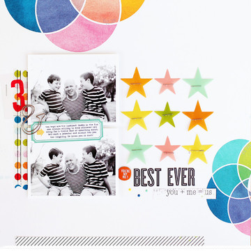 Best ever   kelly noel   studio calico sandlot scrapbook kit