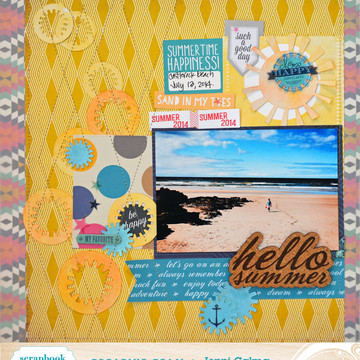 Hello summer sbc august 2014 border