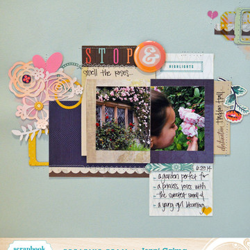 Stop   smell the roses sbc august 2014 border