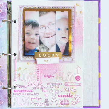 Art journal 5 lucky me