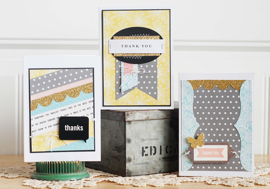 Becki adams thank you card set