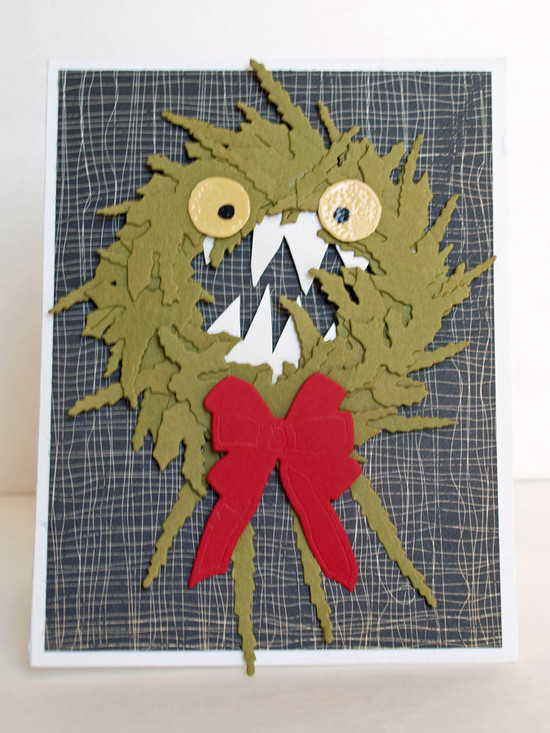 Nightmare before christmas wreath paper crafts october 2014 sabrina alery