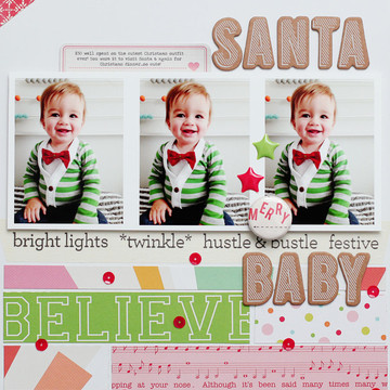 Santa baby   kelly noel   studio calico walden kits