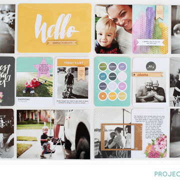 Project life 2014 weeks 41   42   studio calico park ave kit   kelly noel