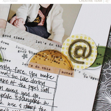 Scrunchy studio calico scrapbook thin washi tape