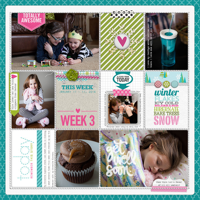 Project Life Ideas 2015 Project Life 2015 Week 3 w