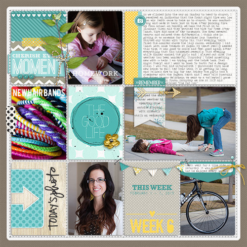 Project Life Ideas 2015 Project Life 2015 Week 6 w