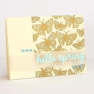 Hello spring by sarah webb
