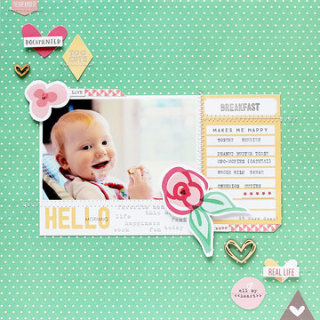 Elles studio hello morning layout by carson riutta