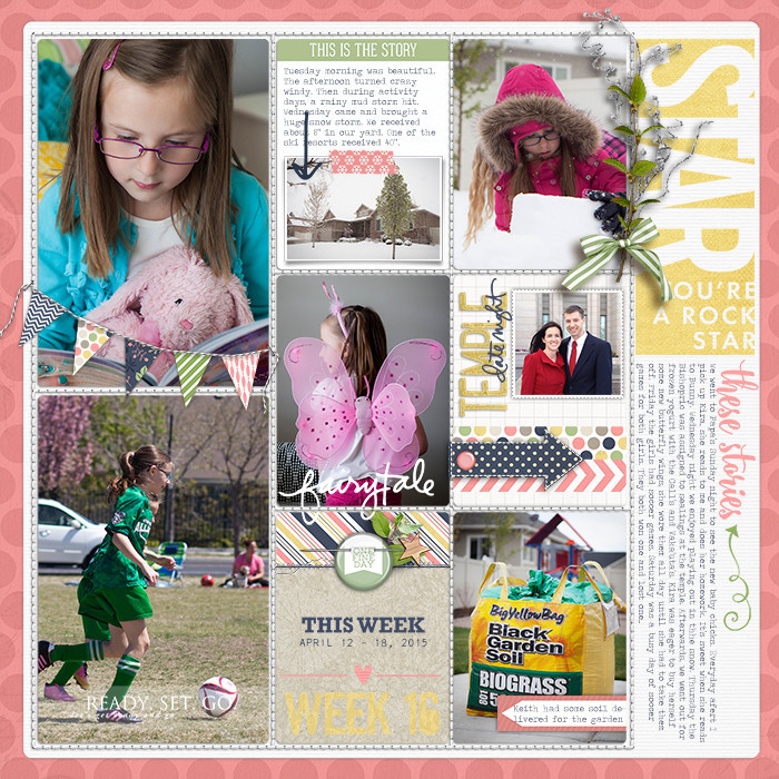 Project Life Ideas 2015 Project Life 2015 Week 16 w