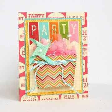 Party card by sarah webb