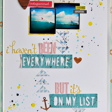 Everywhere on my list