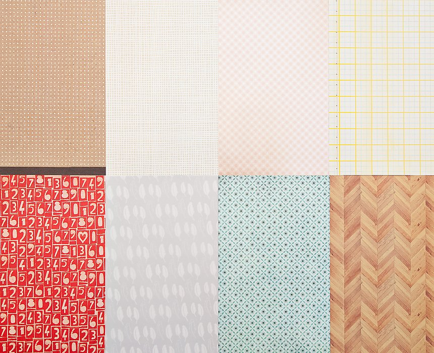 Picture 2 of More Patterned Paper - November 2012