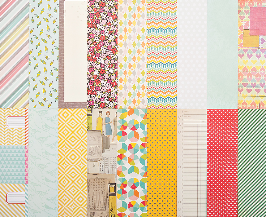 Add-On Patterned Paper - November 2012