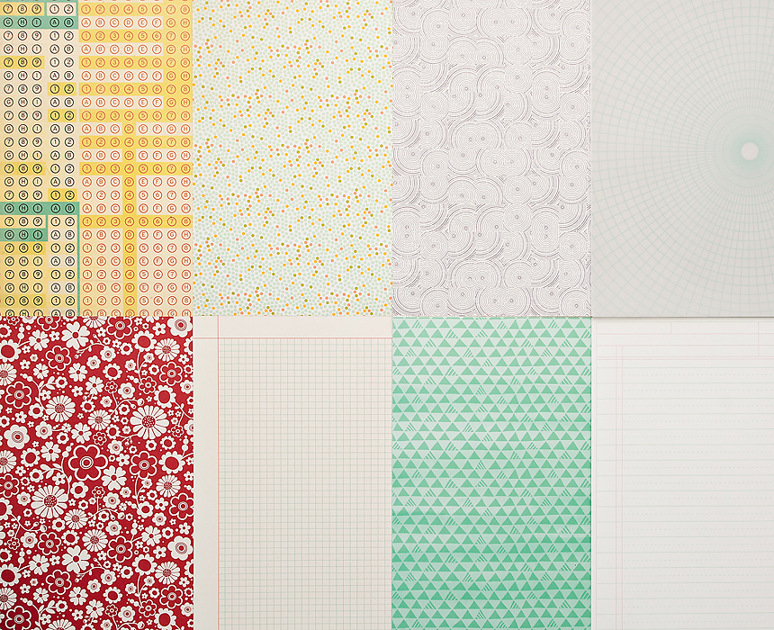 More Patterned Paper - January 2013