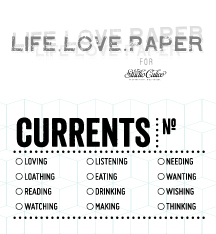 Picture 2 of Currents Stamp by Life.Love.Paper