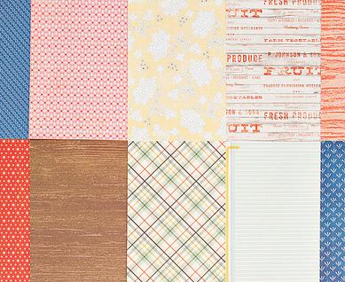 Main card paper