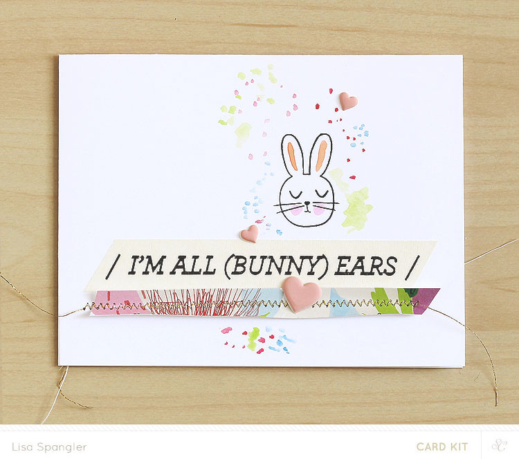 Easter bunny gift tags images easter bunny gift tags easter gift tag stamp die negle Image collections