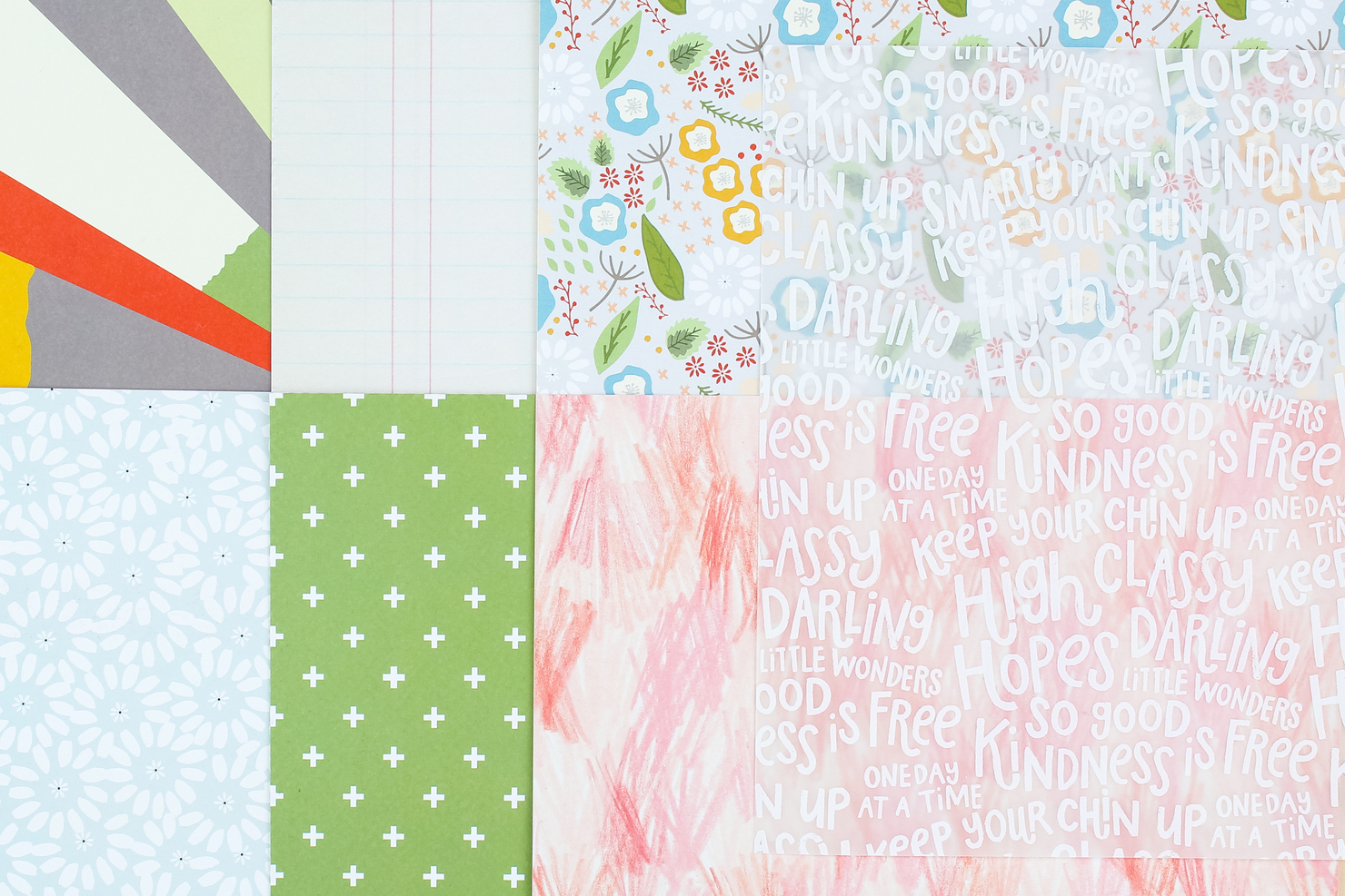 Picture 2 of Lisse Street Scrapbook Kit