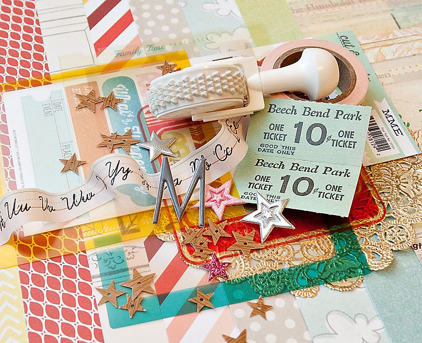 DOUBLE SCOOP Scrapbook Kit