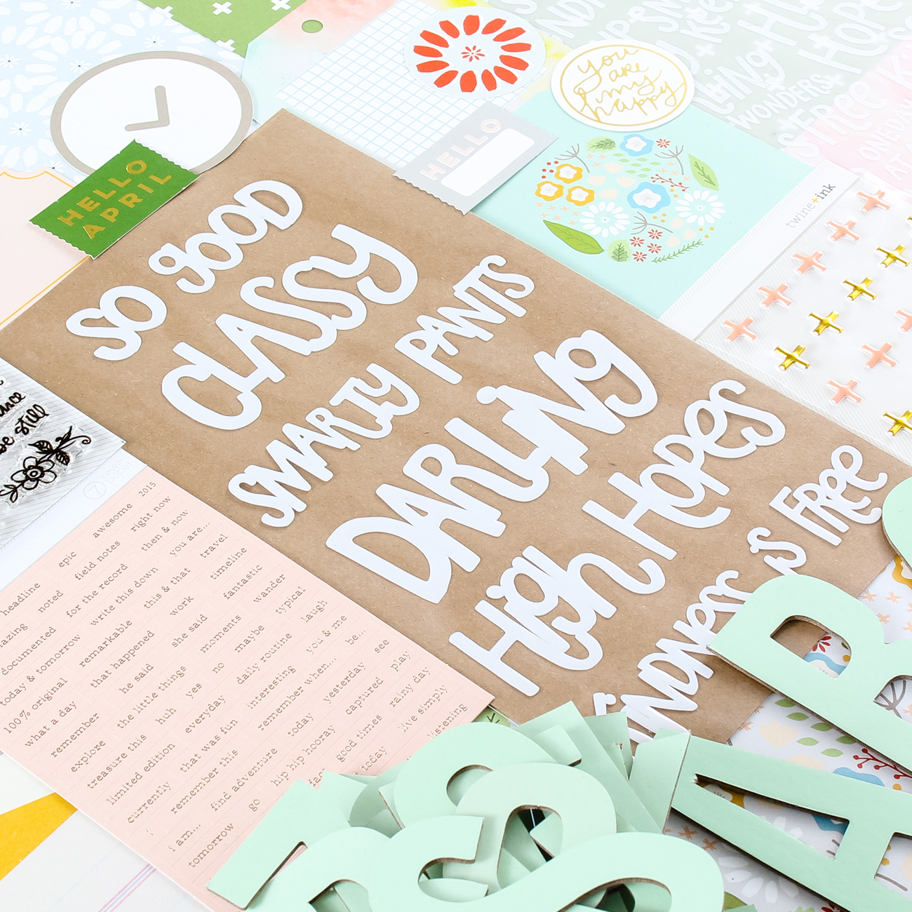 Picture 3 of Lisse Street Scrapbook Kit