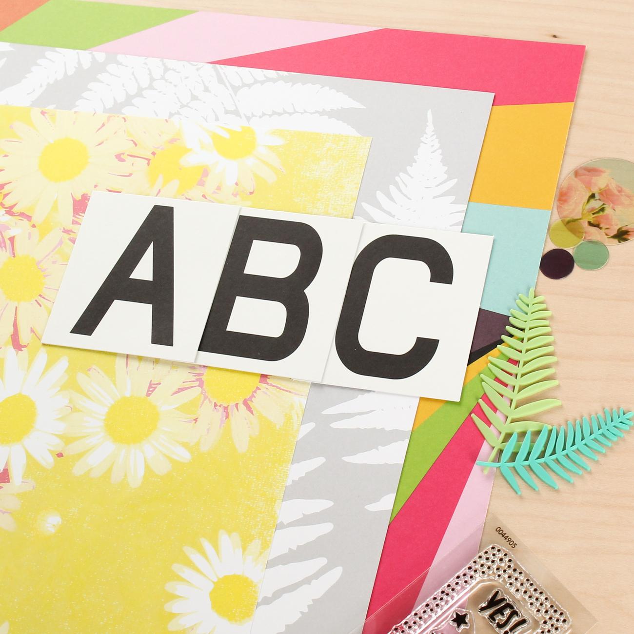 Picture 3 of POP ART Scrapbook Kit