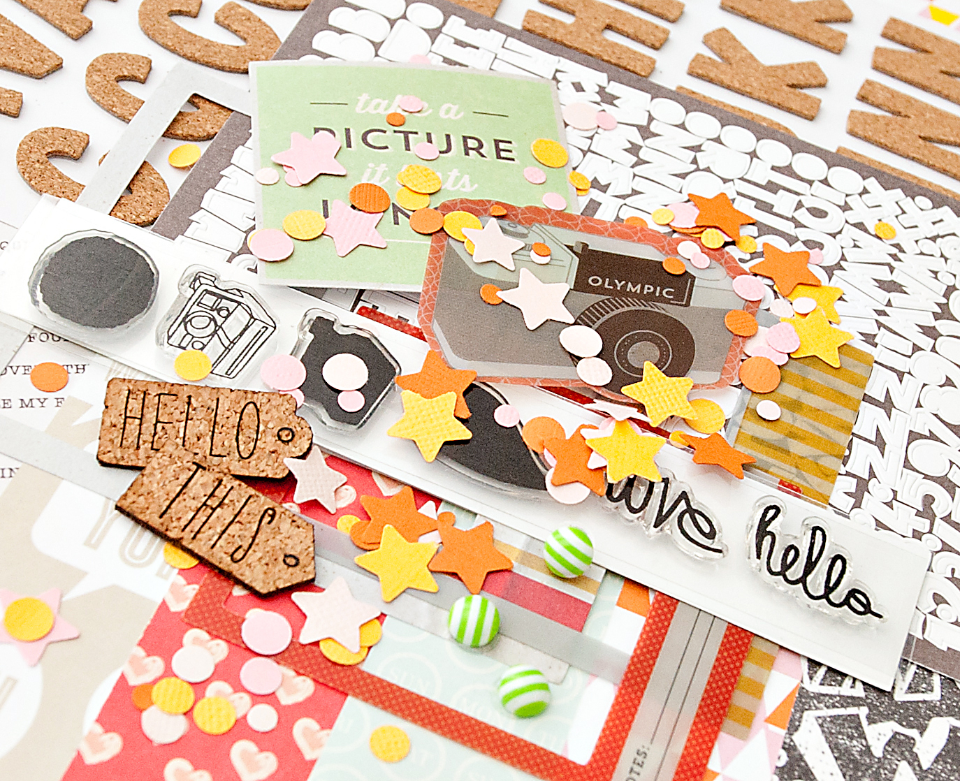 Picture 4 of VALLEY HIGH Scrapbook Kit