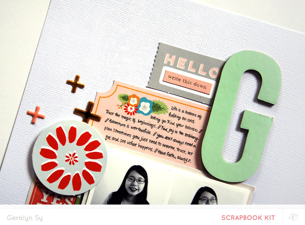 Picture 4 of Lisse Street Scrapbook Kit
