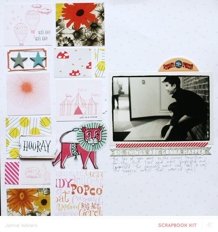Picture 4 of FAIRGROUND Scrapbook Kit