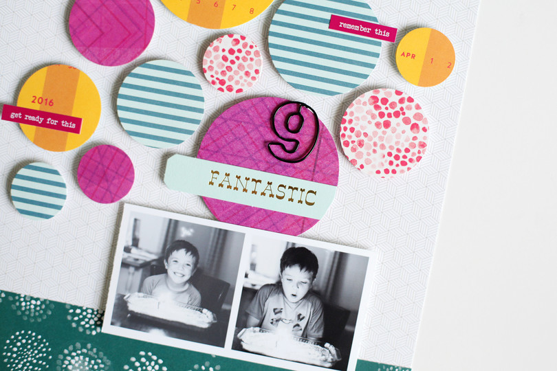 Picture 4 of Story Board Scrapbook Kit