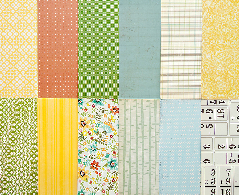 10/11 Add-On Patterned Paper