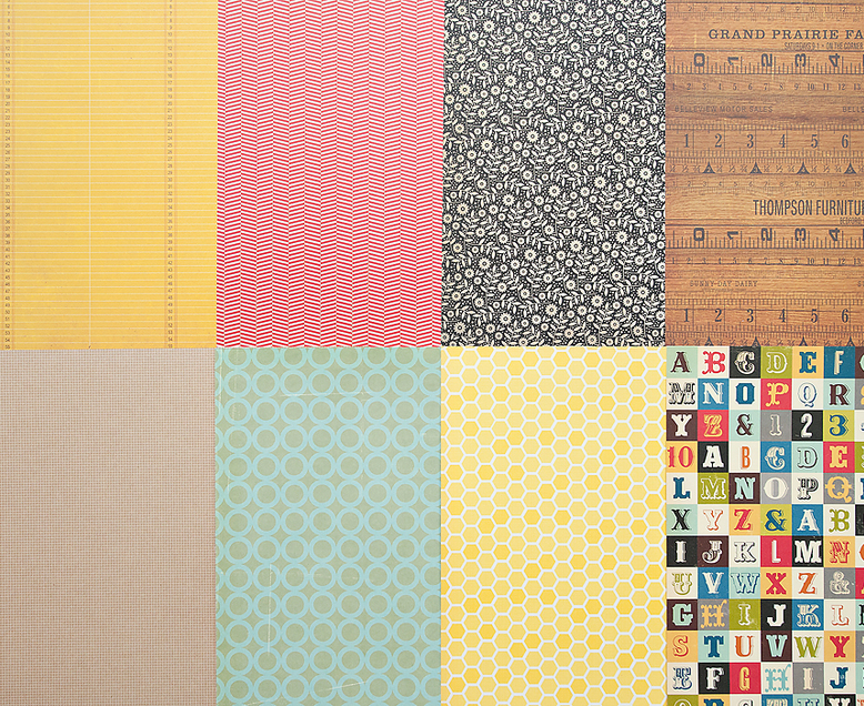 More Patterned Paper - December 2011
