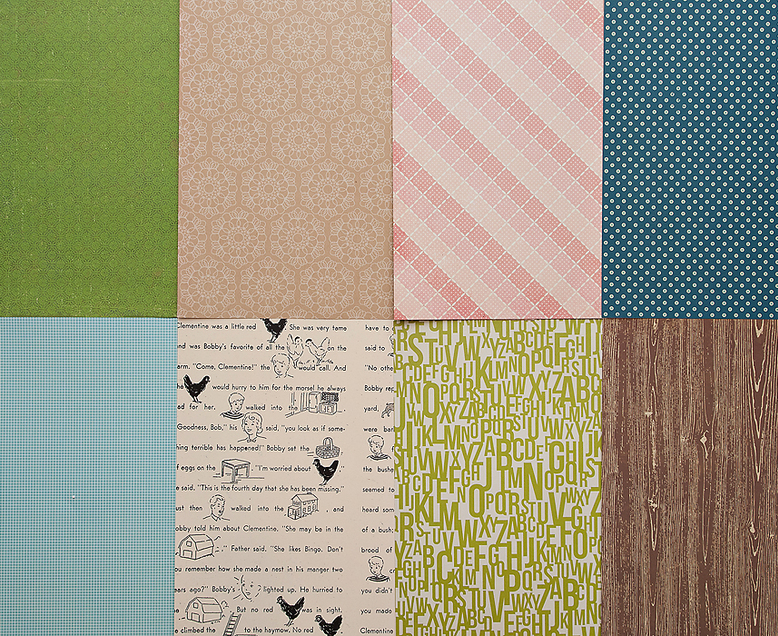 More Patterned Paper - January 2012