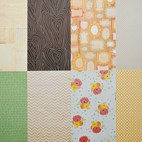 More Patterned Paper - February 2012