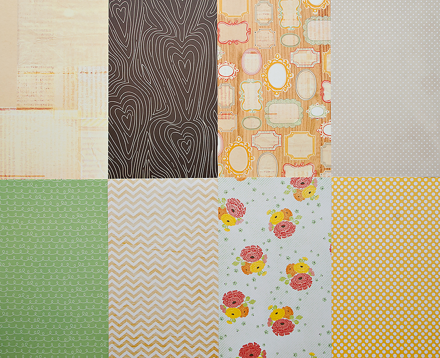 Picture 1 of More Patterned Paper - February 2012