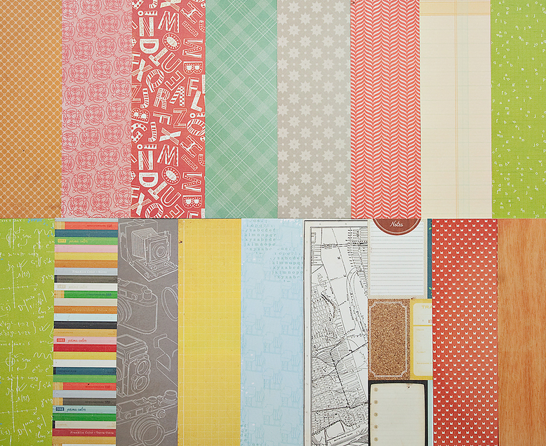 Add-On Patterned Paper - March 2012