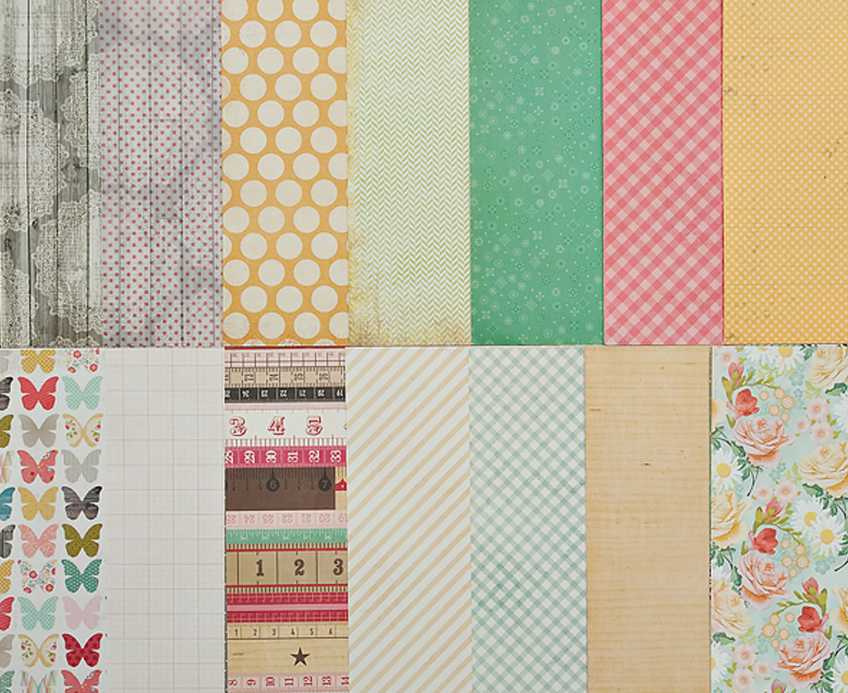 Add-On Patterned Paper #2 -April 2012 **NO KESI ART PAPERS**