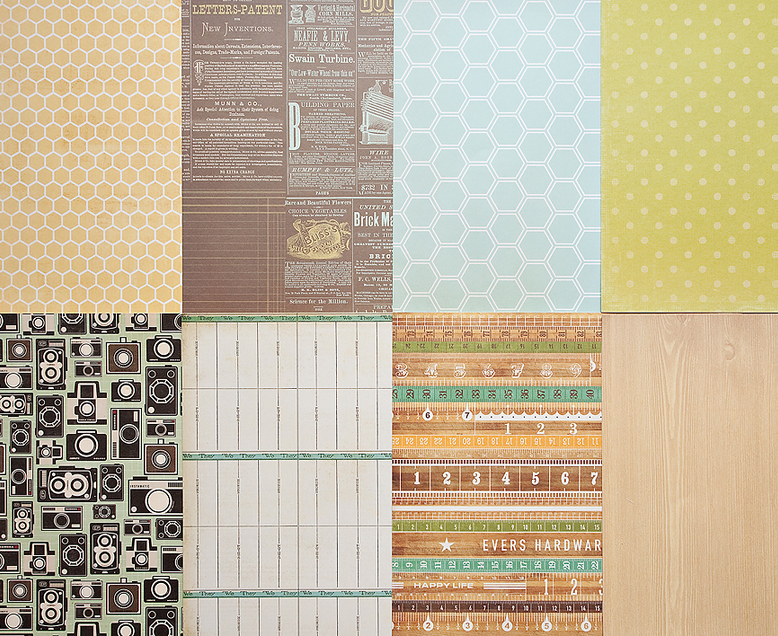 More Patterned Paper - May 2012