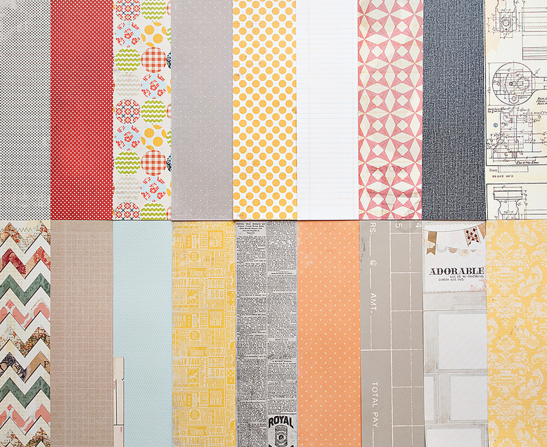 Add-On Patterned Paper - May 2012