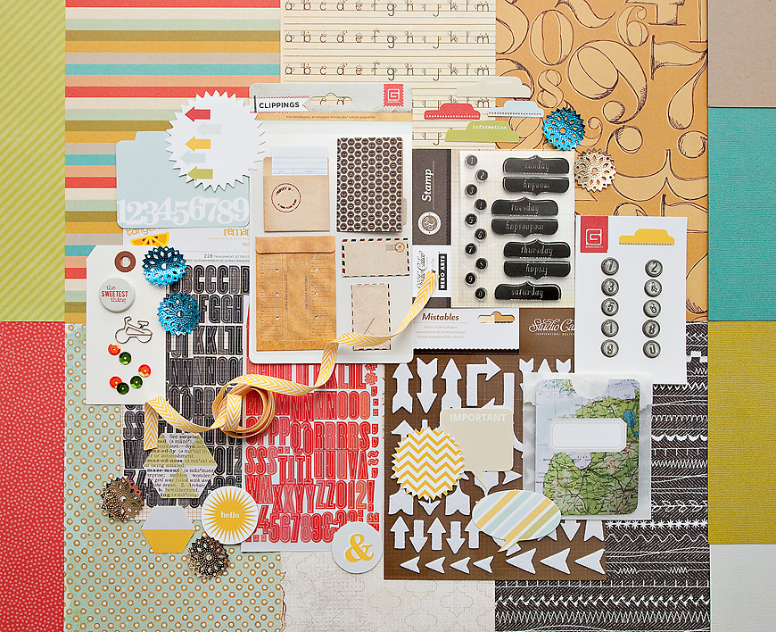 Picture 1 of CENTRAL HIGH SCRAPBOOK KIT