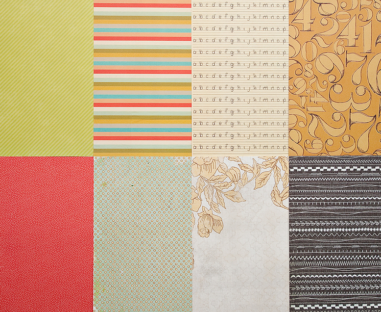 More Patterned Paper - September 2012