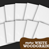 More White Woodgrain - 8.5x11