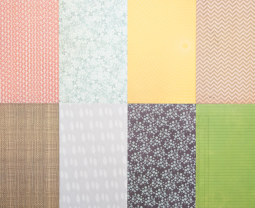 More Patterned Paper - November 2012
