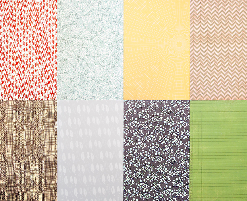 Picture 1 of More Patterned Paper - November 2012