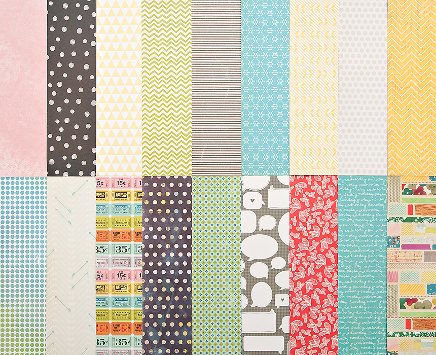 Picture 1 of Add-On Patterned Paper - November 2012