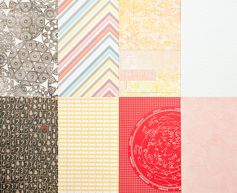 More Patterned Paper - December 2012