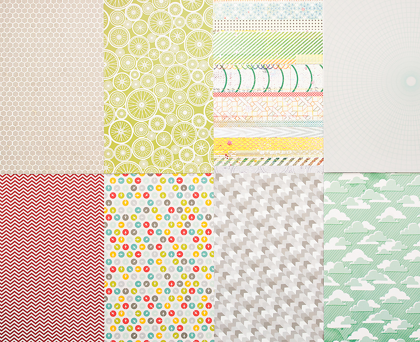Picture 1 of More Patterned Paper - January 2013