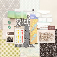 Front Row Scrapbook Kit