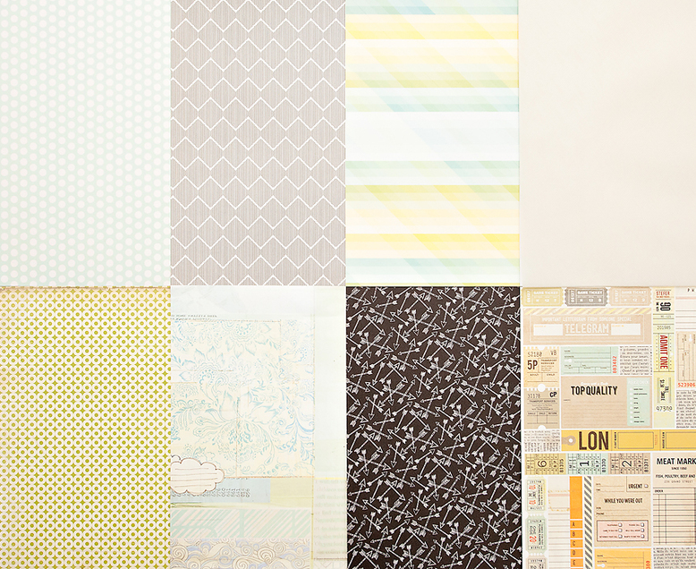 More Patterned Paper - February 2013