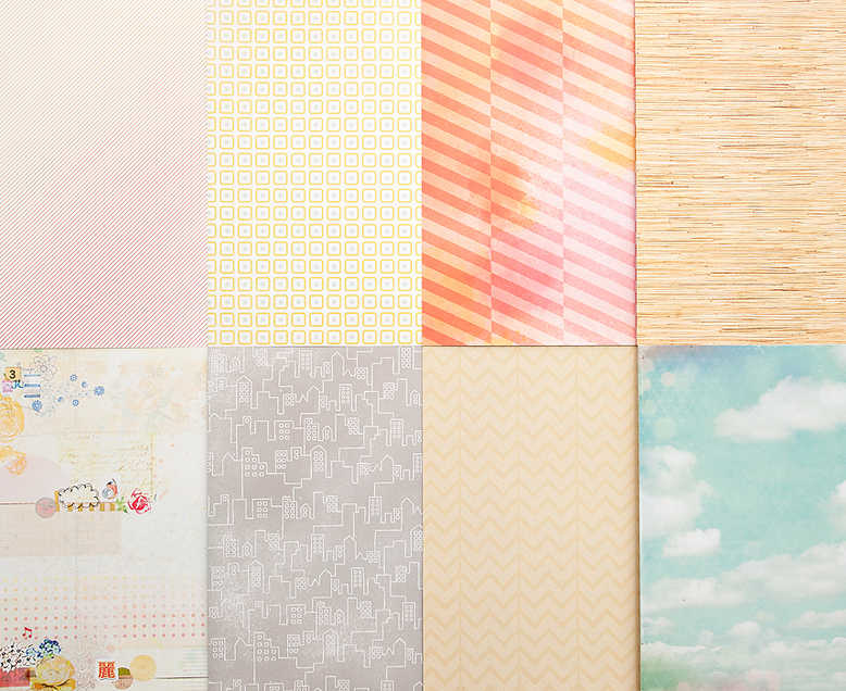 More Patterned Paper - March 2013